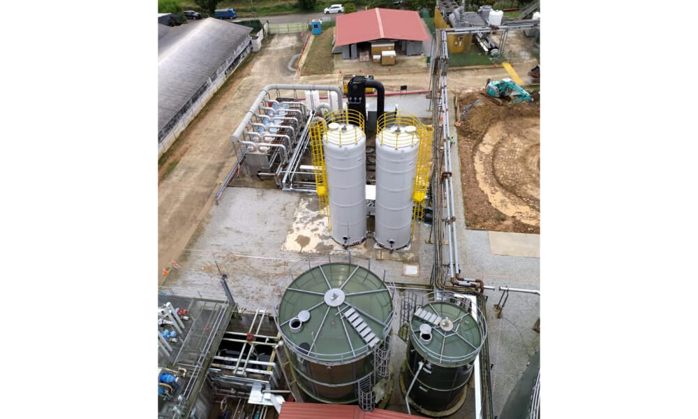 Poultry manure processing facility, Singapore