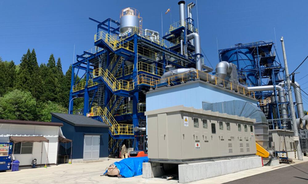 Wajima Woody Biomass Gasification and Power Generating Plant
