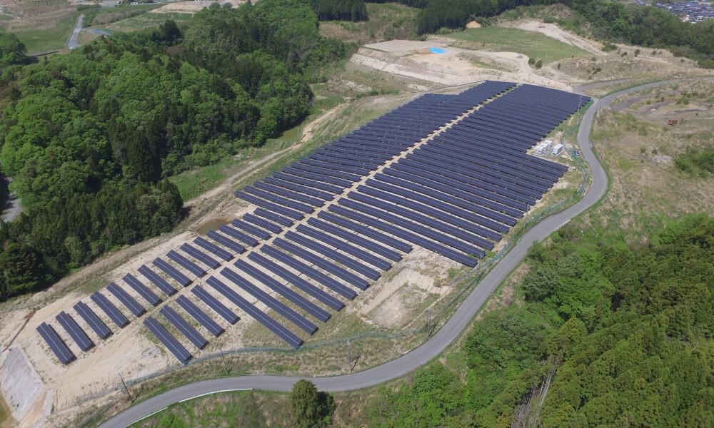 Mega Solar Power Plants
