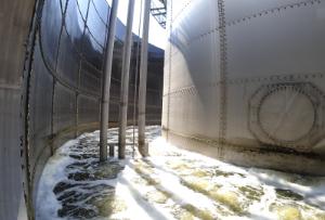 排水処理設備(試運転中)