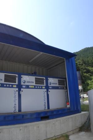 排水処理用ブロアコンテナ